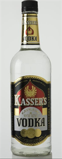 Kasser's Vodka 1.00l - Case of 12